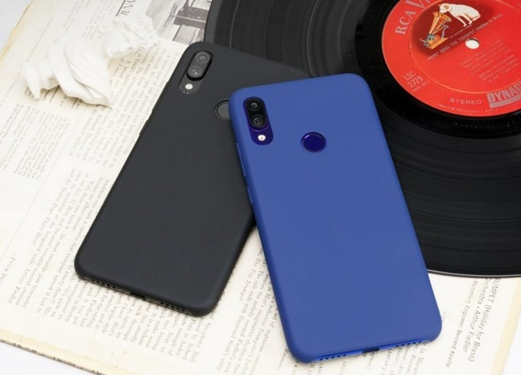 Etui oryginalne Xiaomi Hard Case Black do Xiaomi Redmi Note 7 czarne